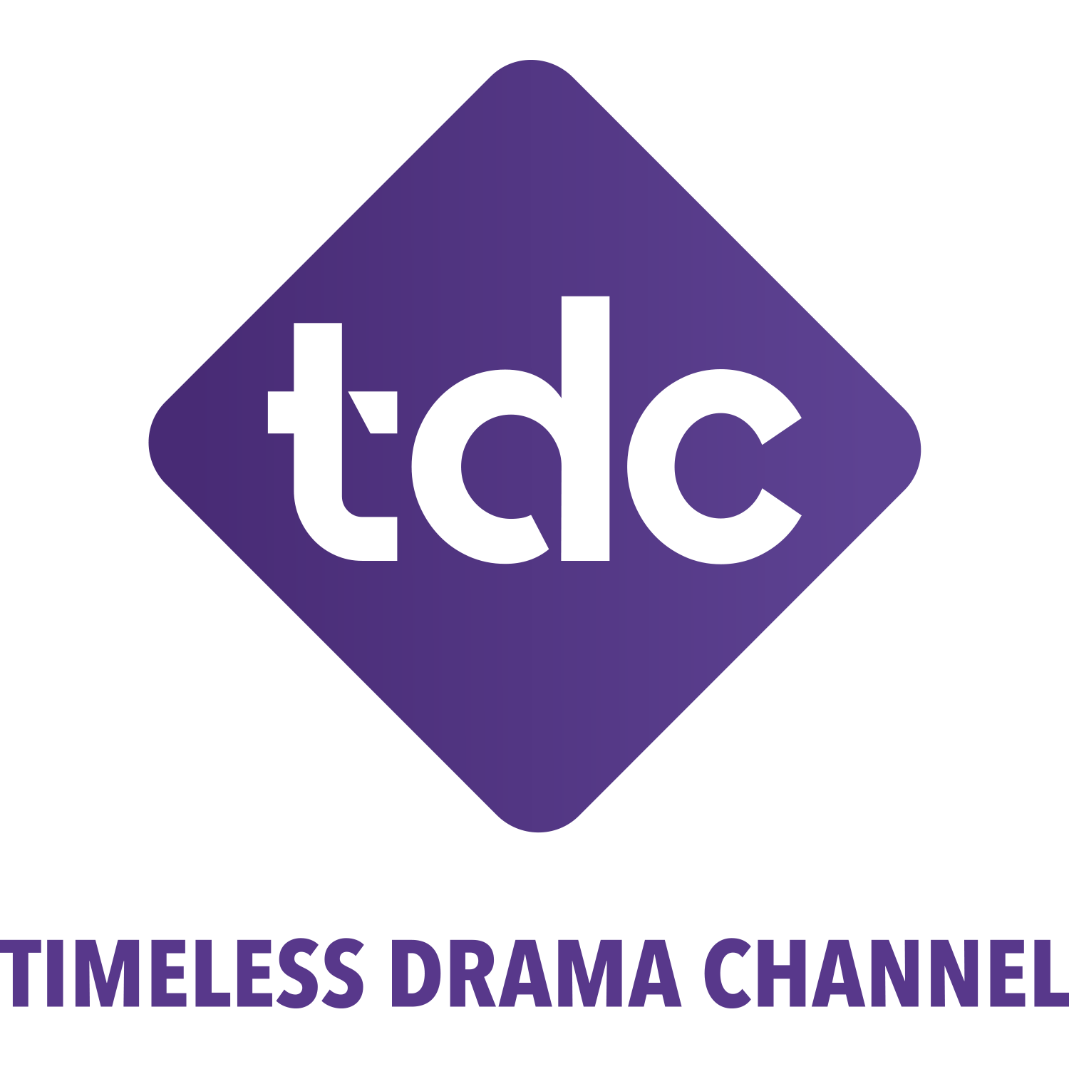 timeless drama channel tdc dark logo